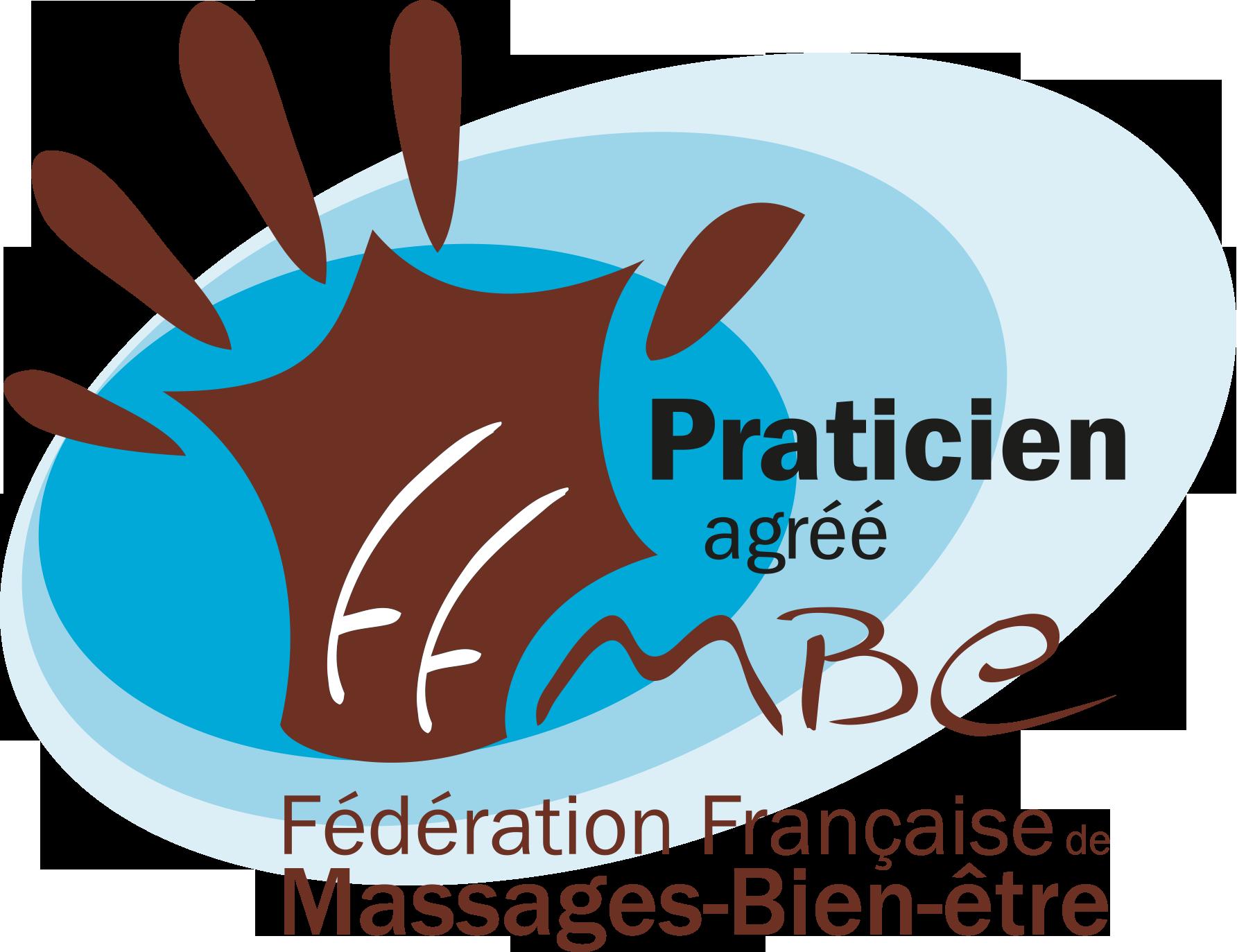 Logo de la fédération française de Massages-Bien-être